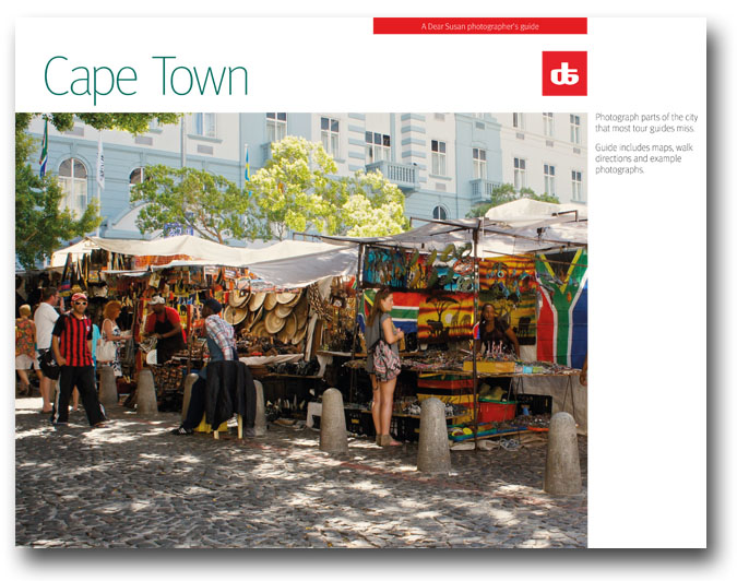 Cover the the DearSusan Insight:Cape Town self-guided photo tour