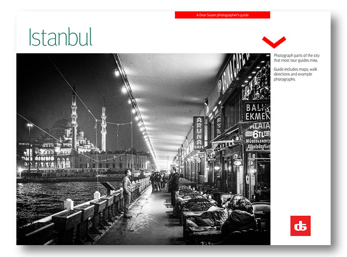 Cover the the DearSusan Insight: Istanbul self-guided photo tour