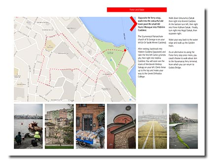 A self-guided photo tour map in the Insight: Cape Town ebook by DearSusan