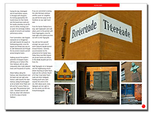 sample text and images in DearSusan's InSight: Copenhagen ebook