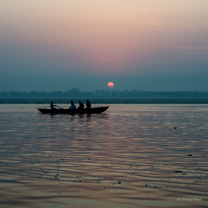 The Ganga at sunrise