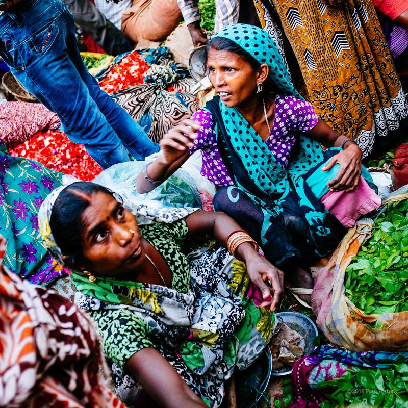 Flower market, Varanasi