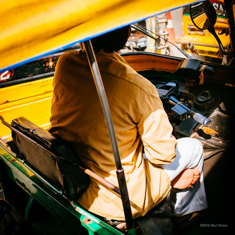 Rickshaw, Gwalior. Fuji X100T