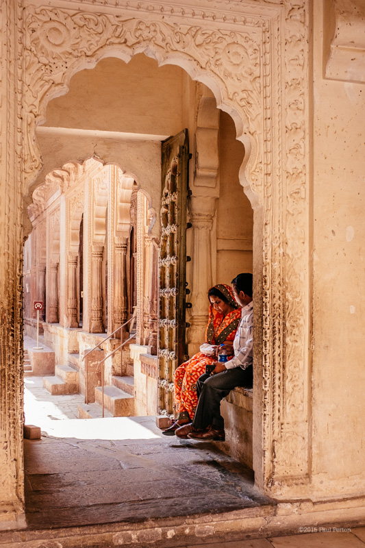 Inside the Mehrangarh Fort, Jodhpur