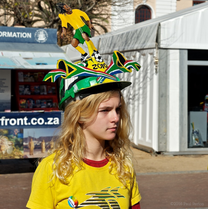 From 2010's SoFoBoMo - Gees. BTW, the hat is called a makarapa