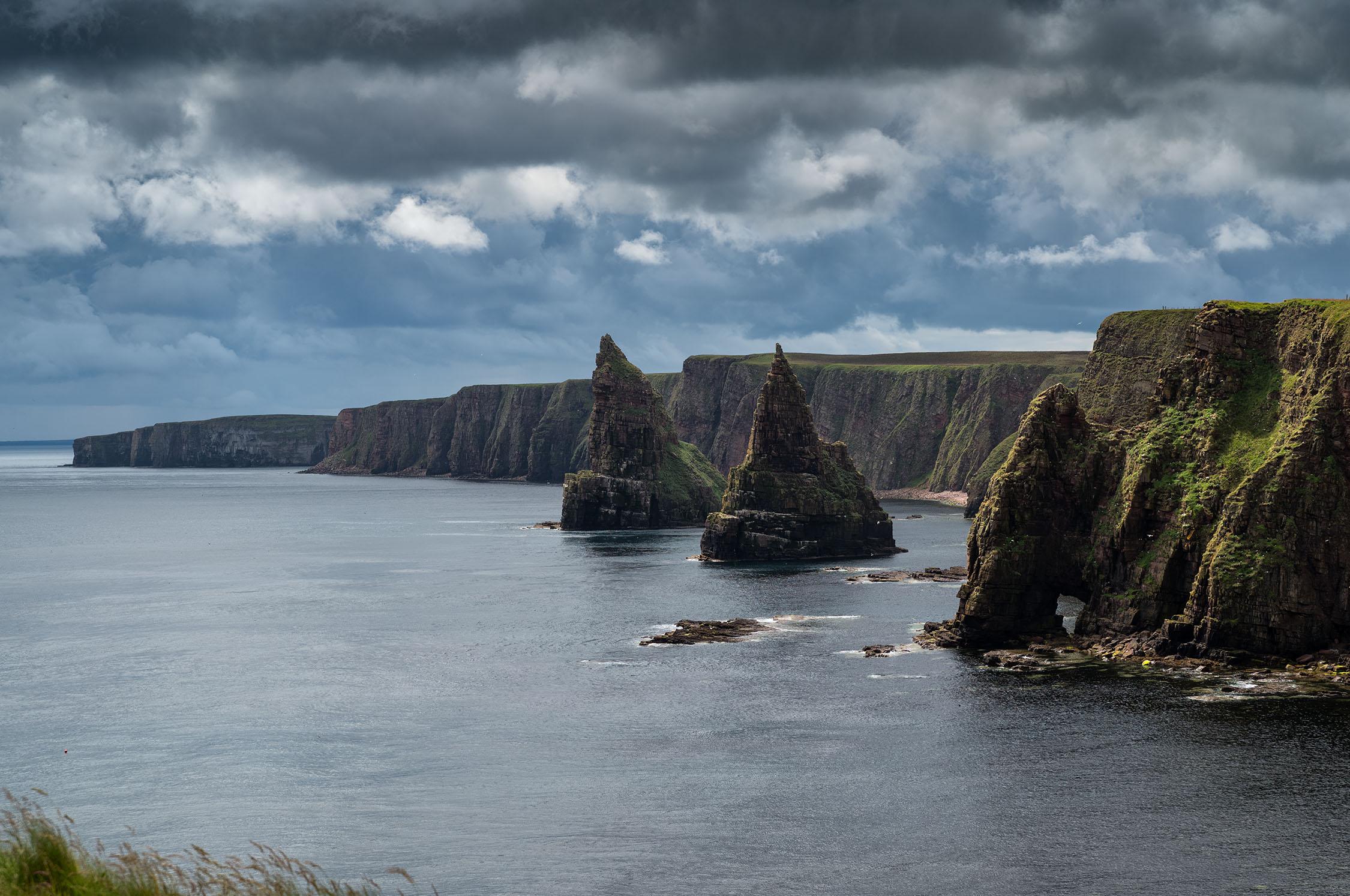 Sea Stacks and Cliffs, Duncansby Head. Leica S2. Bob Hamilton