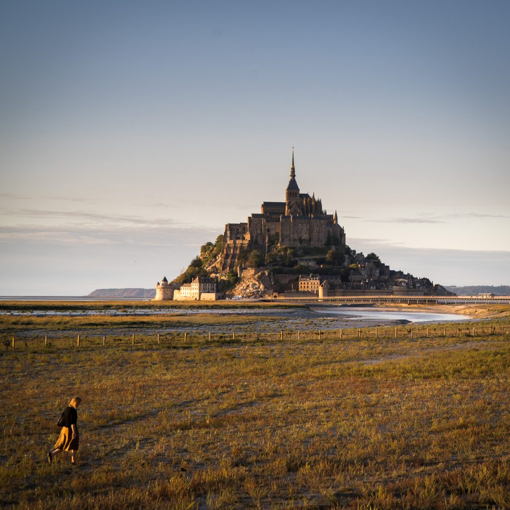 A square format photograph at Mont Saint Michel is a strong counter example to the rule of thirds