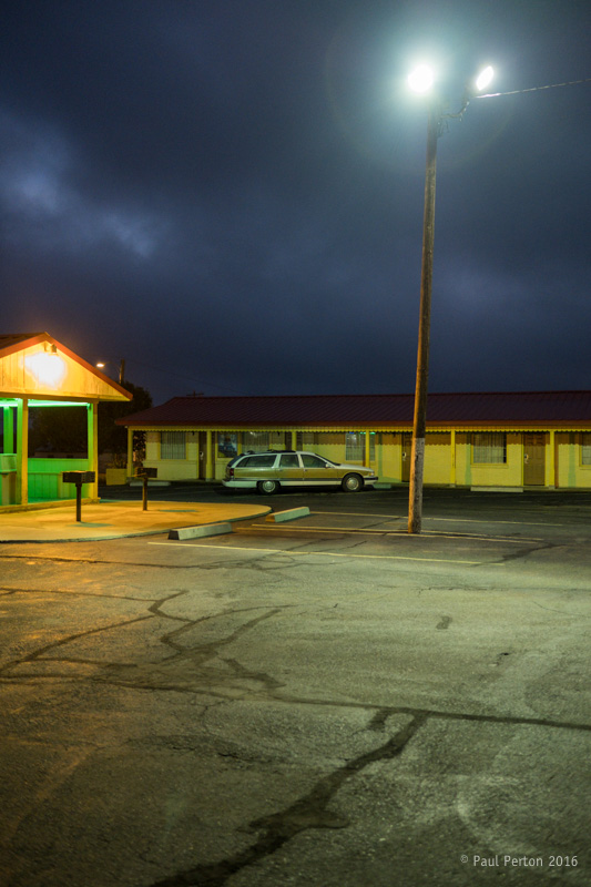 Motel morning, Shamrock