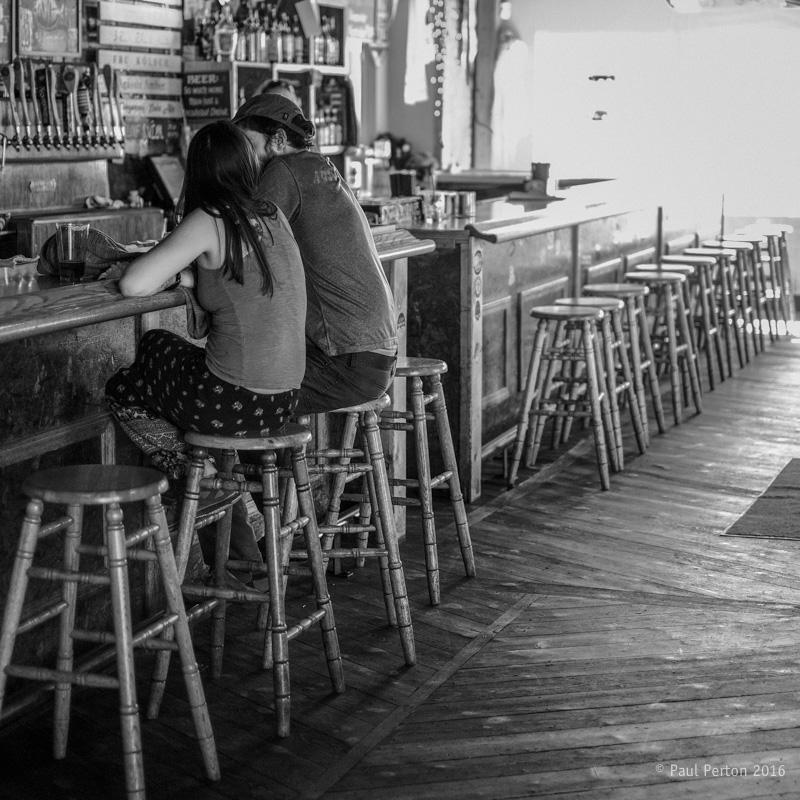 Lone drinkers, Flagstaff AZ