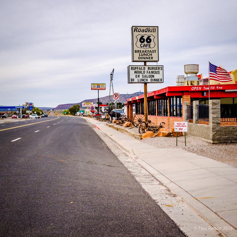 Roadkill café - Seligman AZ