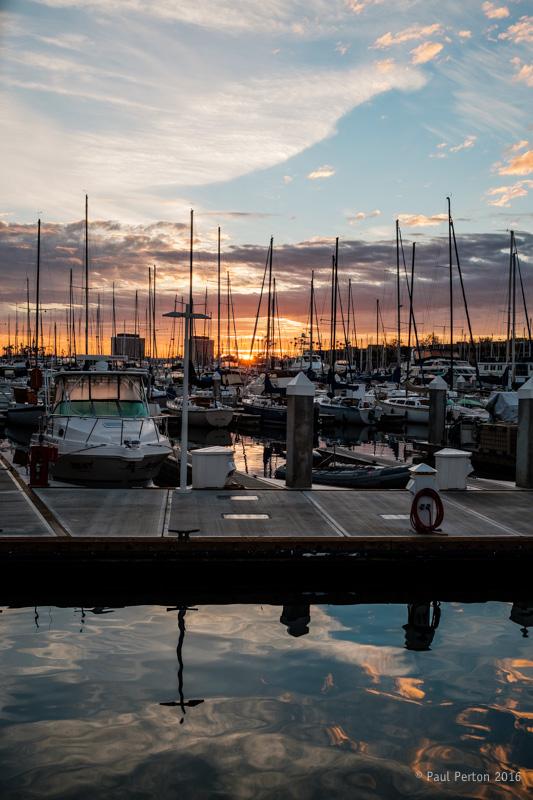 Sunrise, Marina del Rey CA