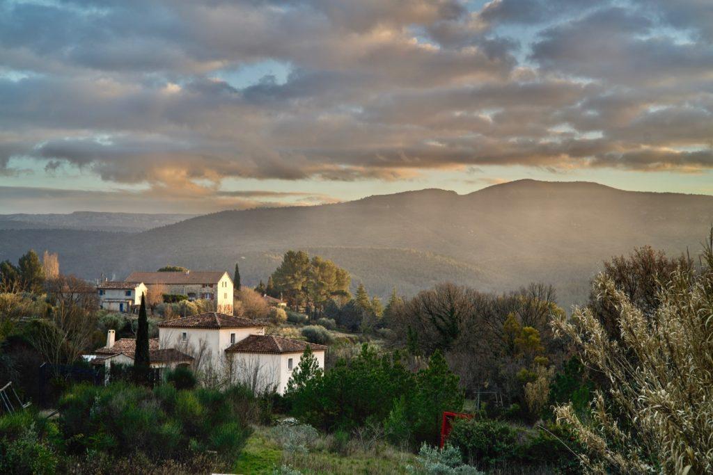 Sunset image processed in Apple Photos and MacPhun Luminar