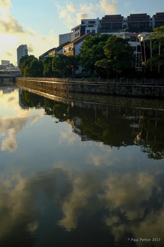 Singapore River at Robertson Quay