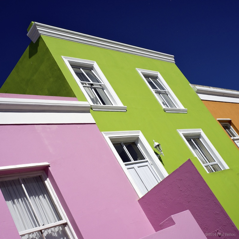 The colourful walls of Cape Town. A treat for any photographer. (c) Paul Perton.
