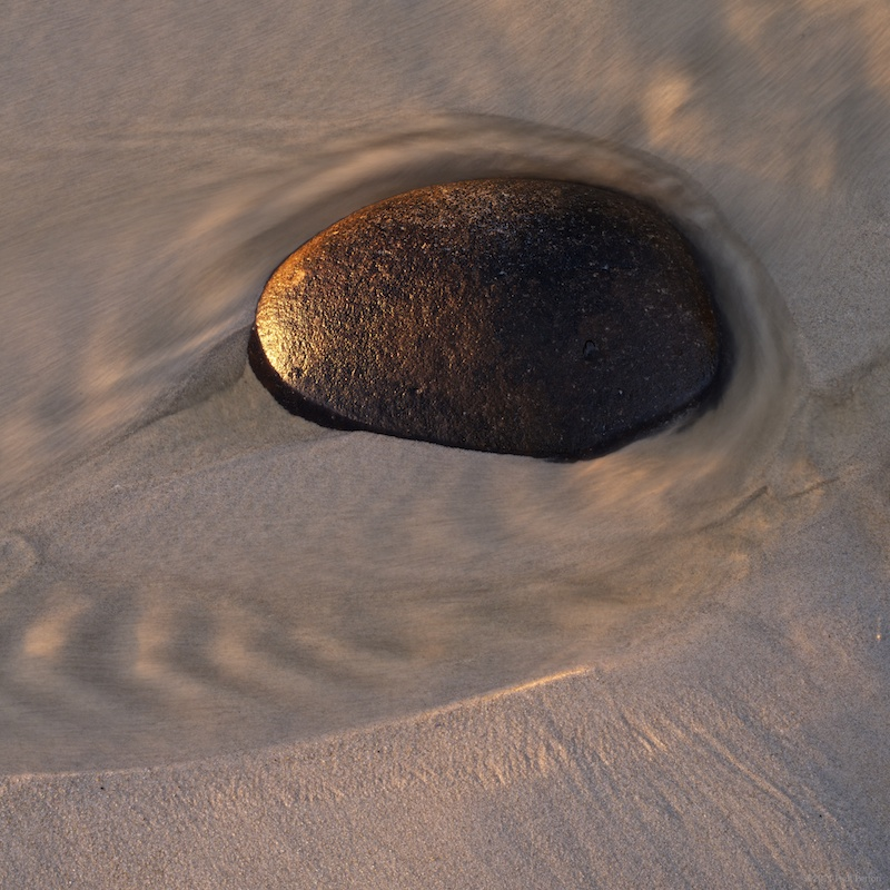 Sunset rock at Kogel Bay