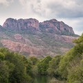 #235. Rocher de Roquebrune. The Zion NP of Provence?