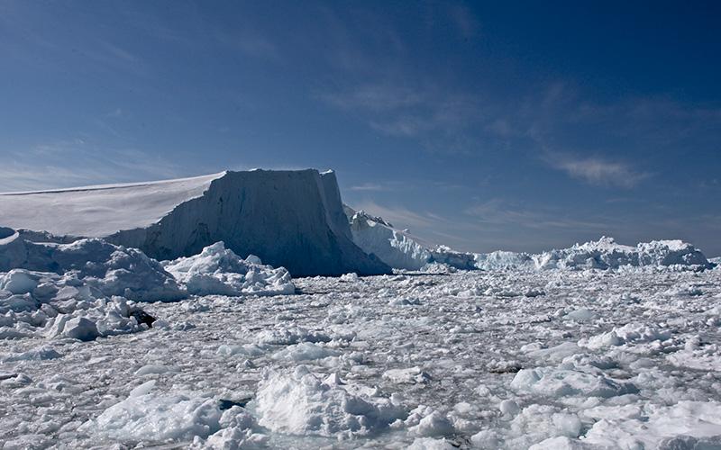 Ilulisat ice fiord