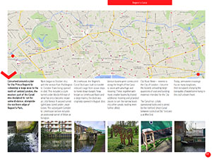 A self-guided photo tour map in the Insight: London ebook by DearSusan