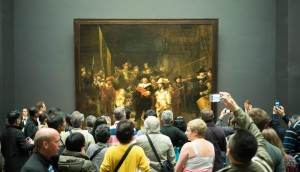 Mass worship in Rijksmuseum illustrating a design principle in DearSusan's InSight: Guides FAQ