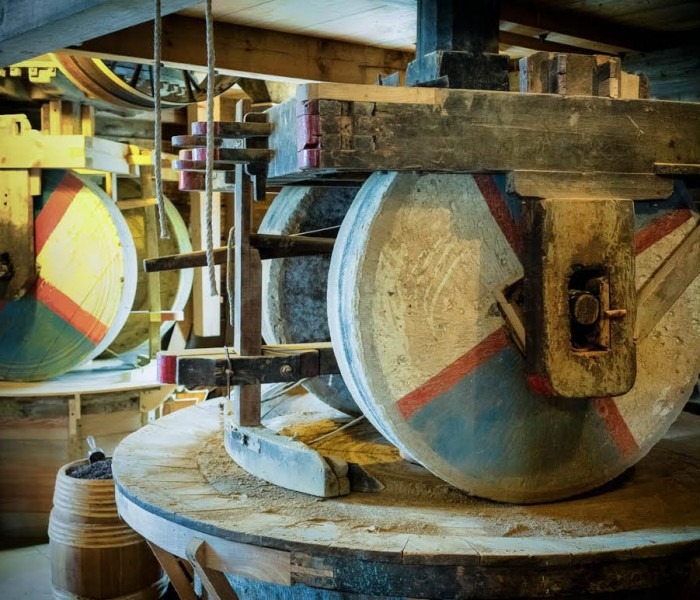 #248. Travel Photo of The Day – Spinning Wheels at Zaanse Schans