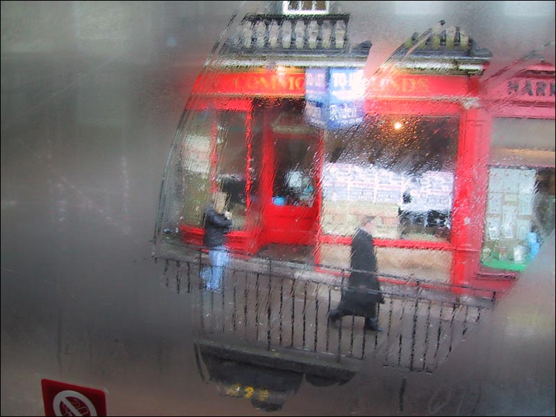 Bus Window 1 - Study in Scarlet (c) Eolake Stobblehouse