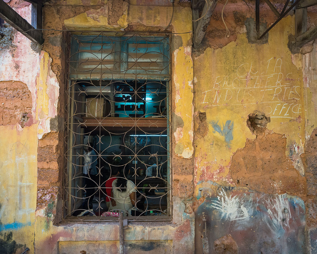 A home window in Fontaihas Goa.