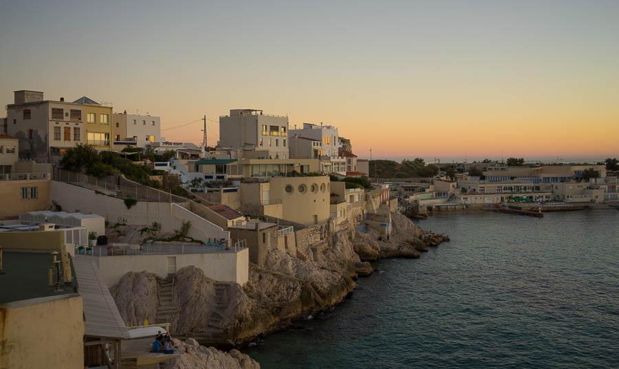 A sumer evening in Marseilles