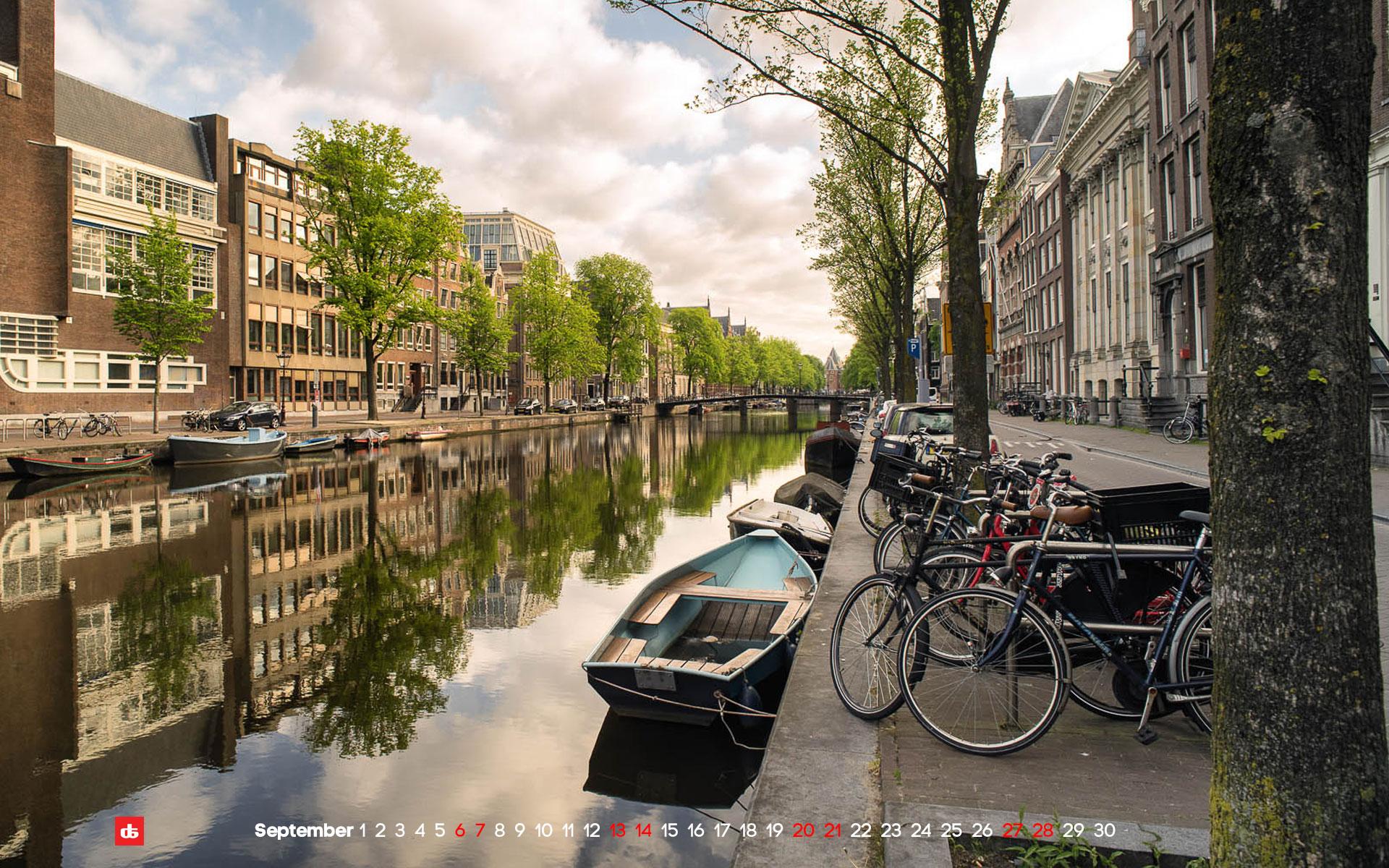 Kloveniersburgwal in Amsterdam