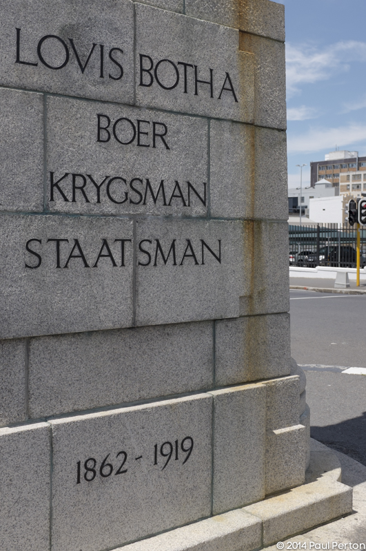 Monument to Louis Botha, outside Parliament, Cape Town