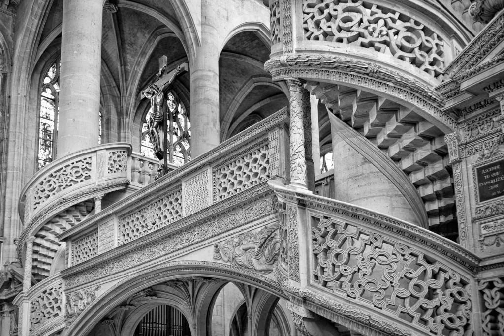 Inside Saint-Etienne du Mont
