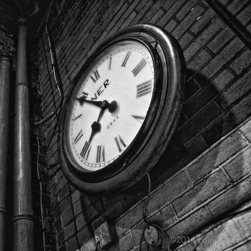 Station clock, NYMR
