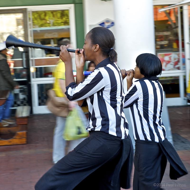 The mighty vuvuzela