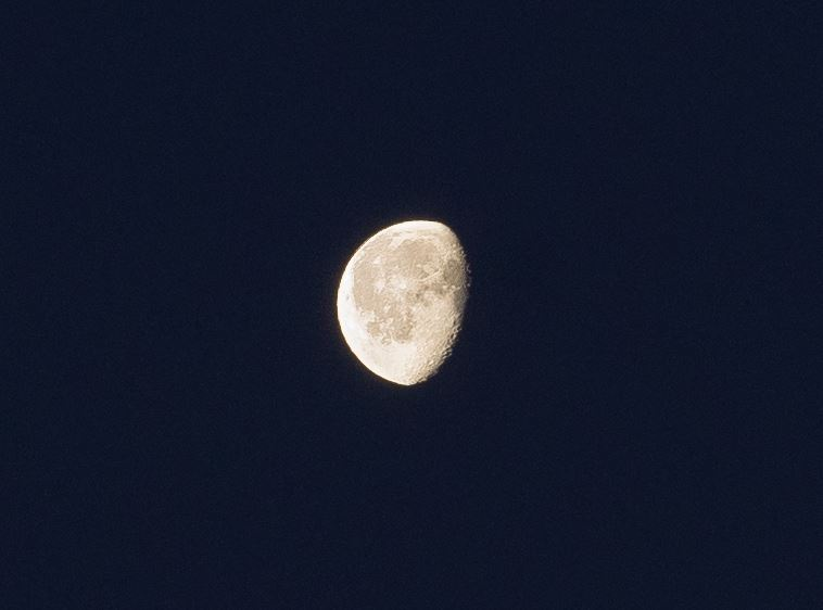 The Moon, imaged with a Sony A7r and Zeiss OTUS 85/1.4