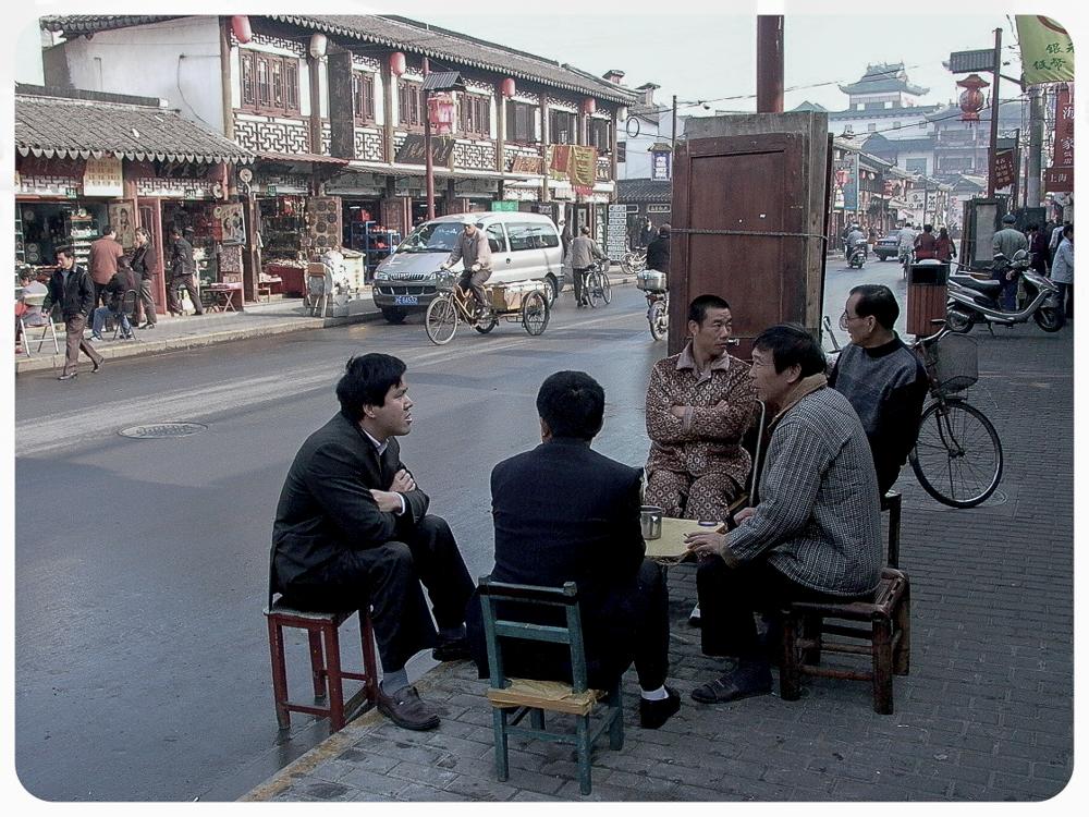 On the street Shanghai