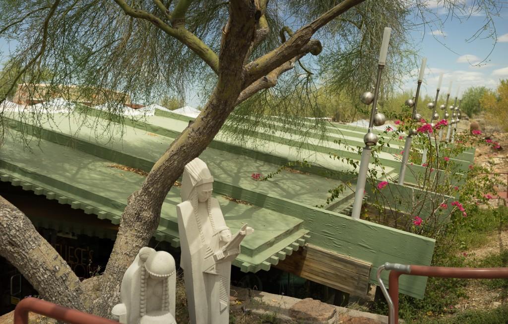 Taliesin West, in Scottsdale, Phoenix, Arizona. Sony A7r and Zeiss C-Sonnar 1.5/50 ZM