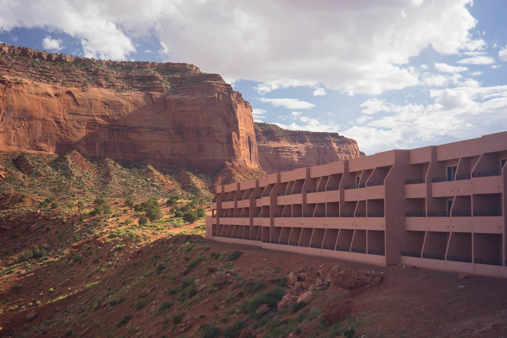 Hotel The View, Monument Valley. Sony A7r & Zeiss C-Sonnar 15/50 ZM