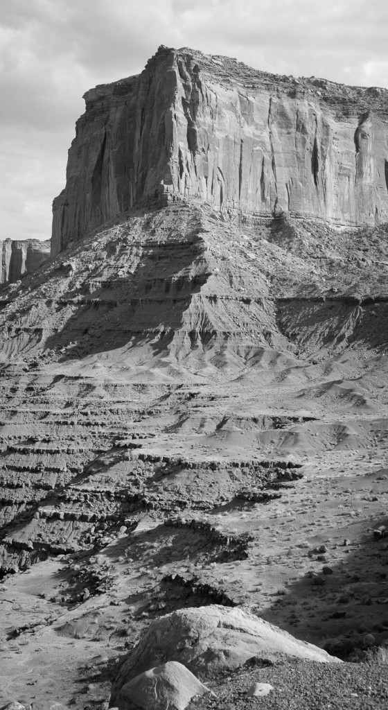 Monument Valley in B&W. Sony A7r & Zeiss C-Sonnar 1.5/50 ZM