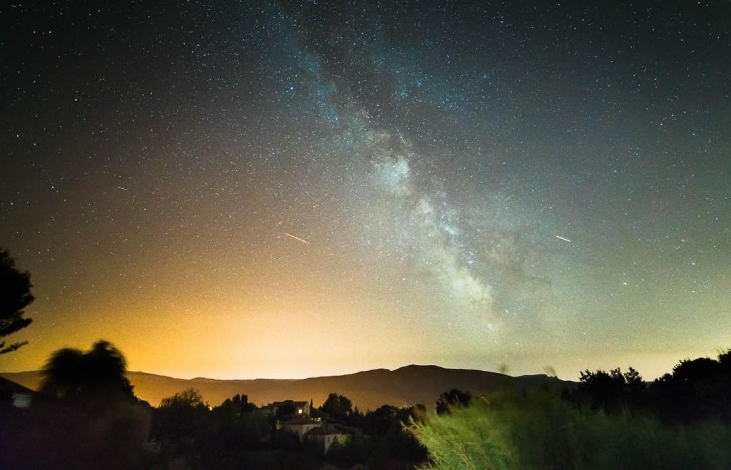 Milky Way in Provence - Sony A7rII & Zeiss Distagon 2.8/15 ZF.2