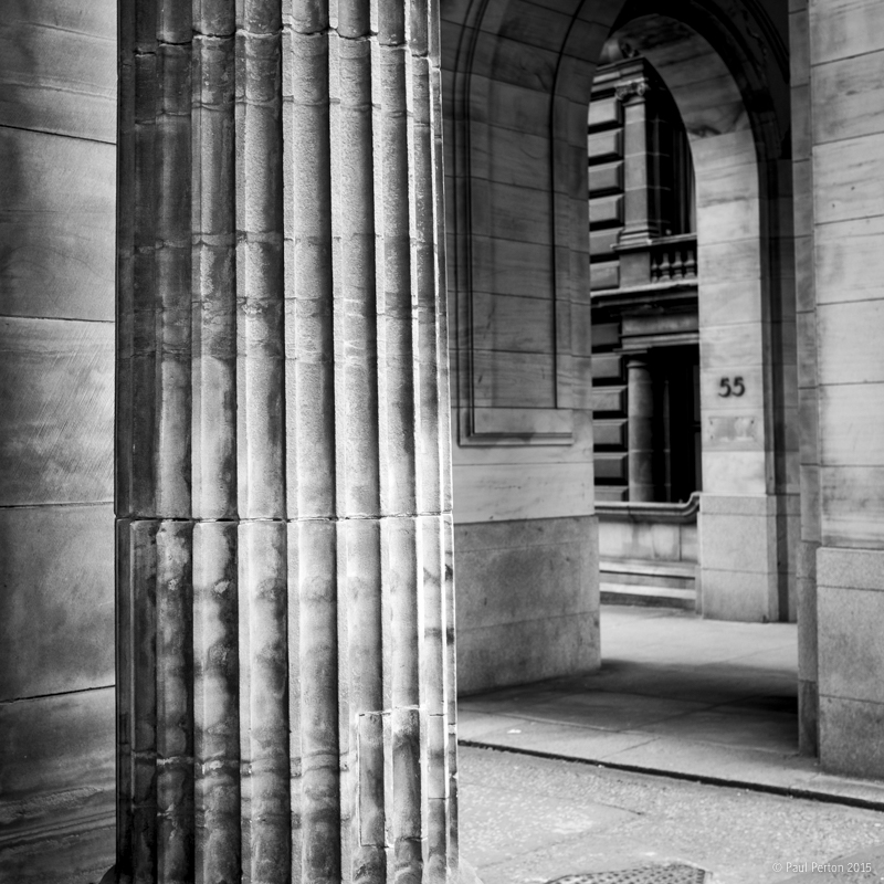 Column, Glasgow - Paul Perton - Fuji X100T
