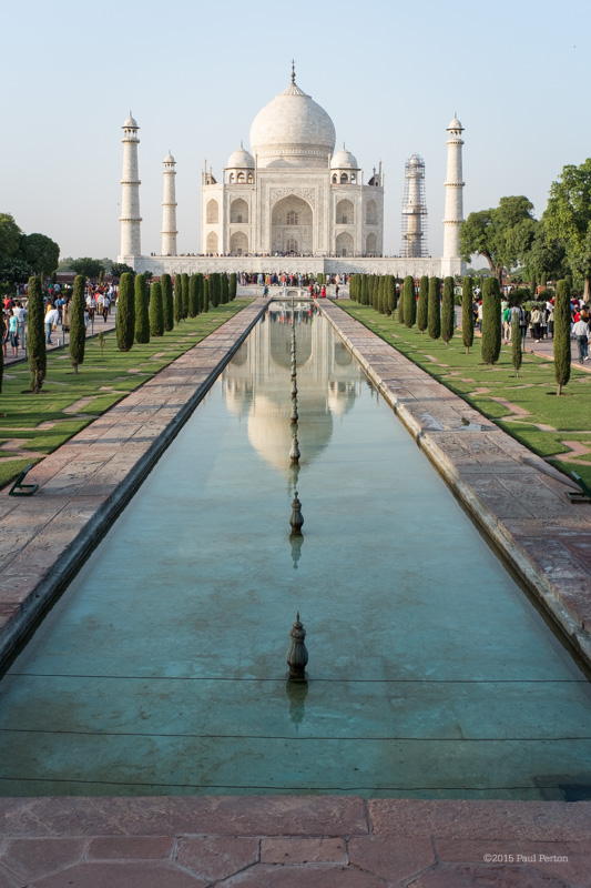 The Taj. A magnificent monument to love. Fuji X-Pro1, 25mm Zeiss Biogon