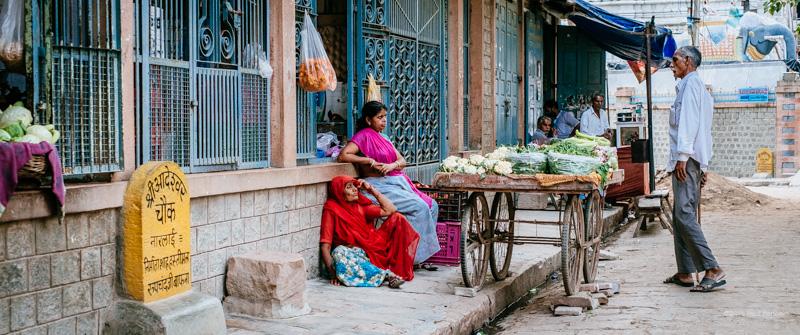 Street vendor, Narlai