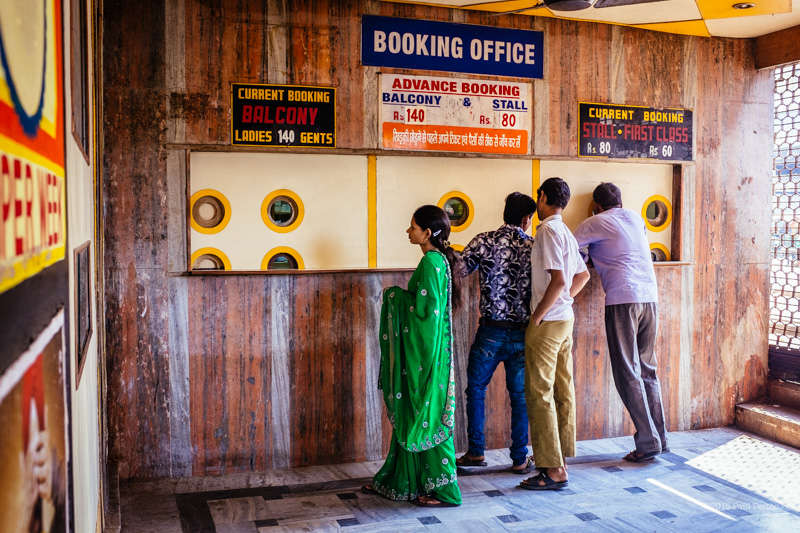 Lucknow's main street cinema