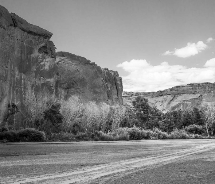 #427. Canyon de Chelly on horseback. Travel photo the hard way ;)