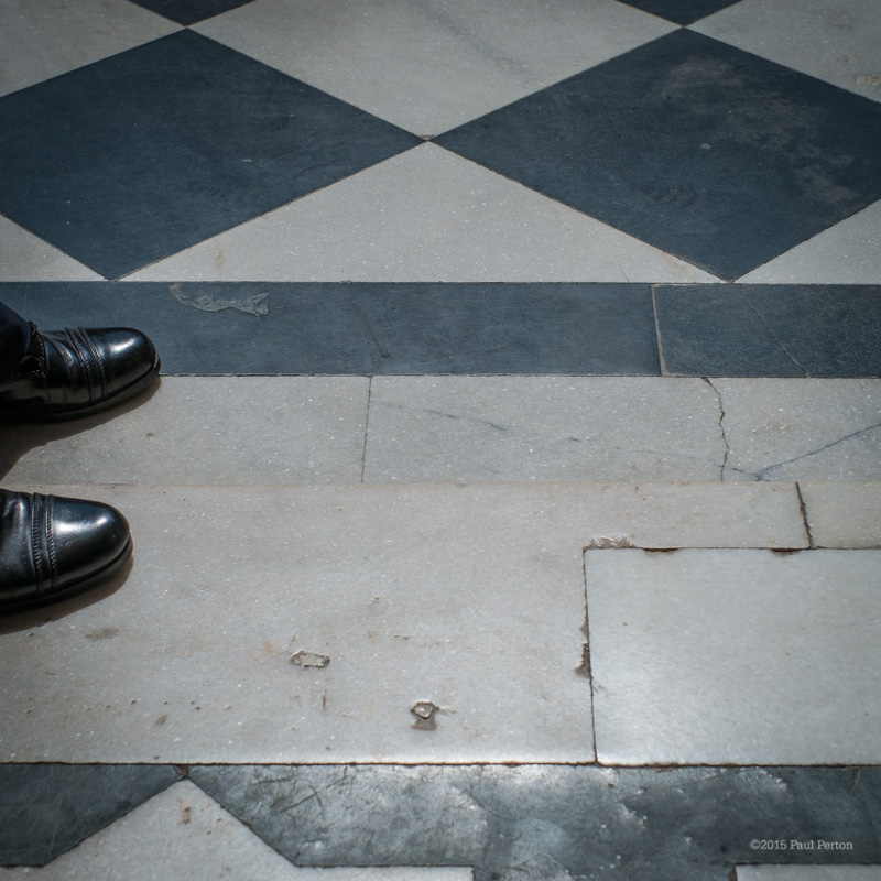 Security officer's shoes, Udaipur. X-Pro with Fuji 35mm f1.4