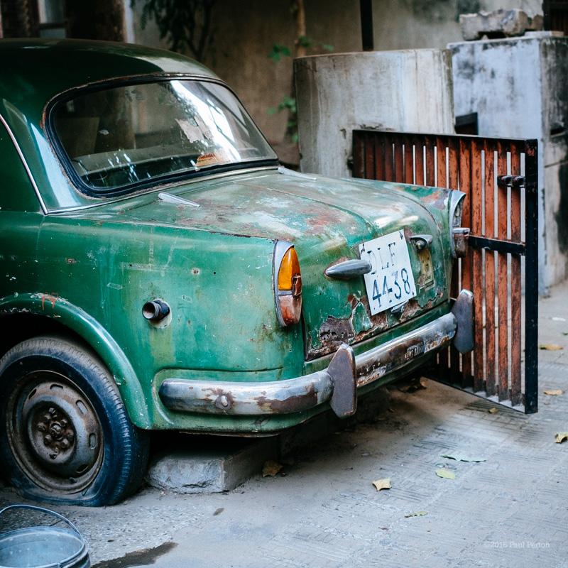 Off street parking, Delhi. X-Pro with Fuji 35mm f1.4