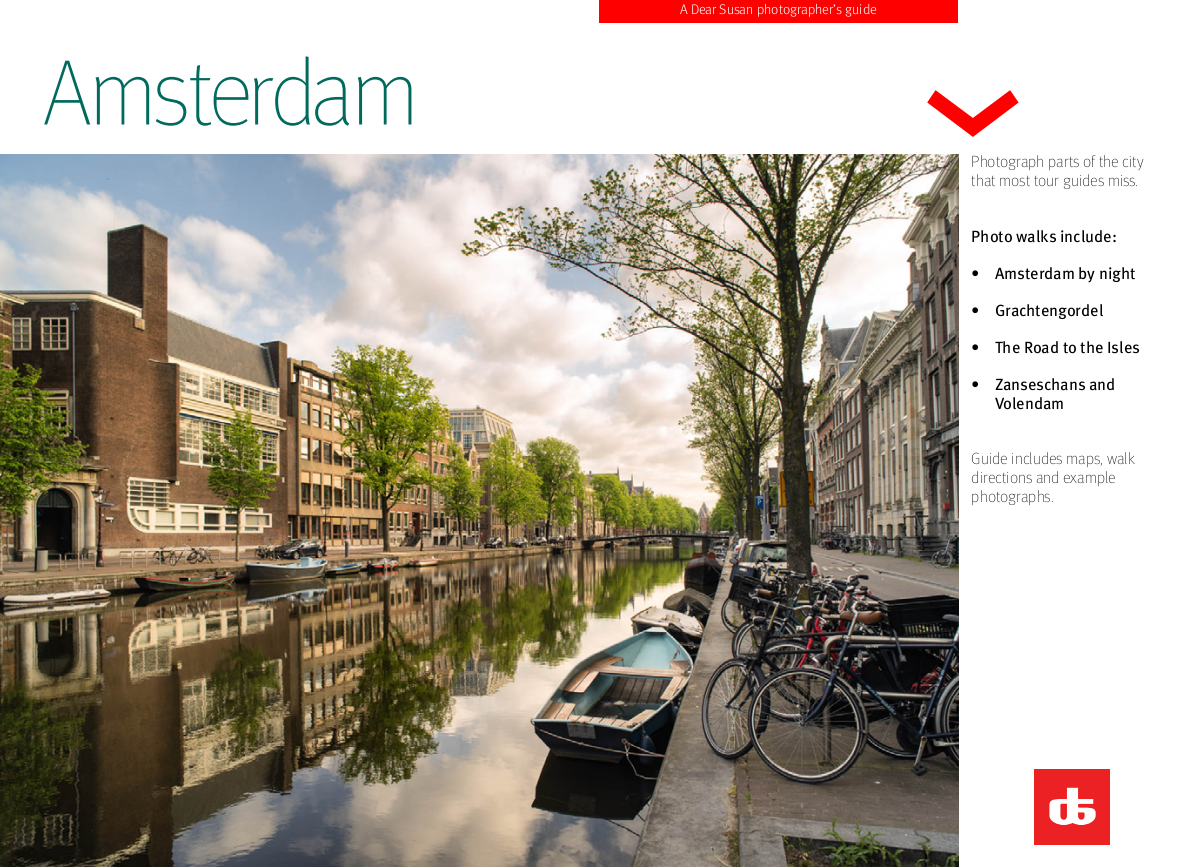 DearSusan InSight: Amsterfam - self guided walks