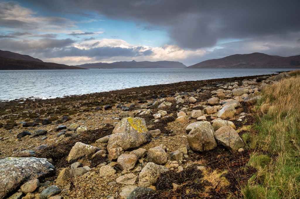 11 - Skye - The Islands of Raasay and Scalpay across Loch Ainort