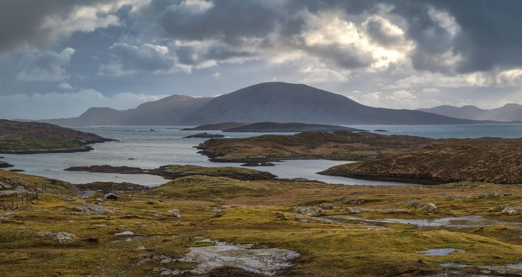 29 - North Harris - Loch Leosavay, Sodhaigh Beag, Sodhaigh Mor and Luskentyre from Abhainn Suidhe