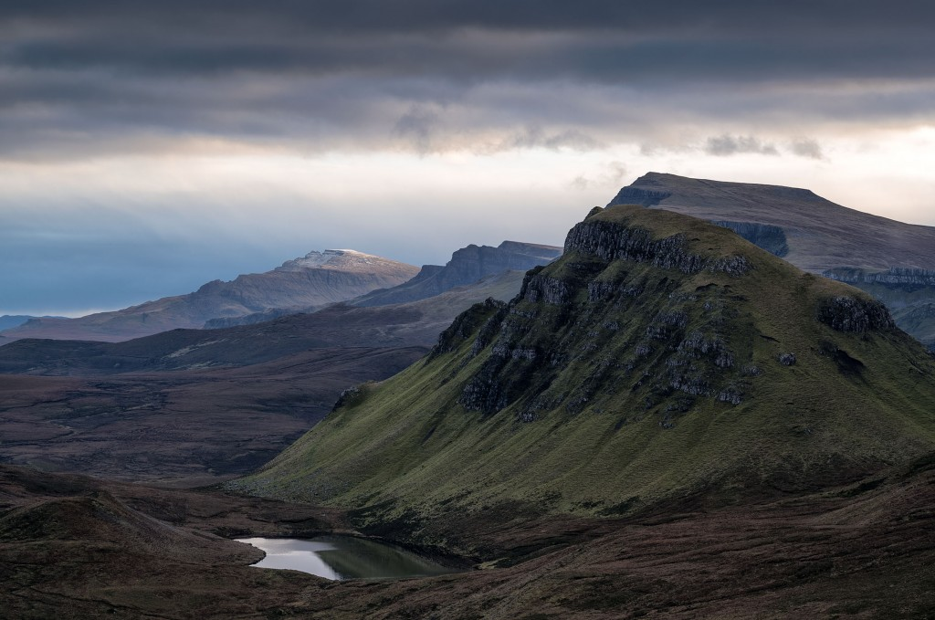 8 - Skye - Beinn Edra and the Storr from the Quiraing