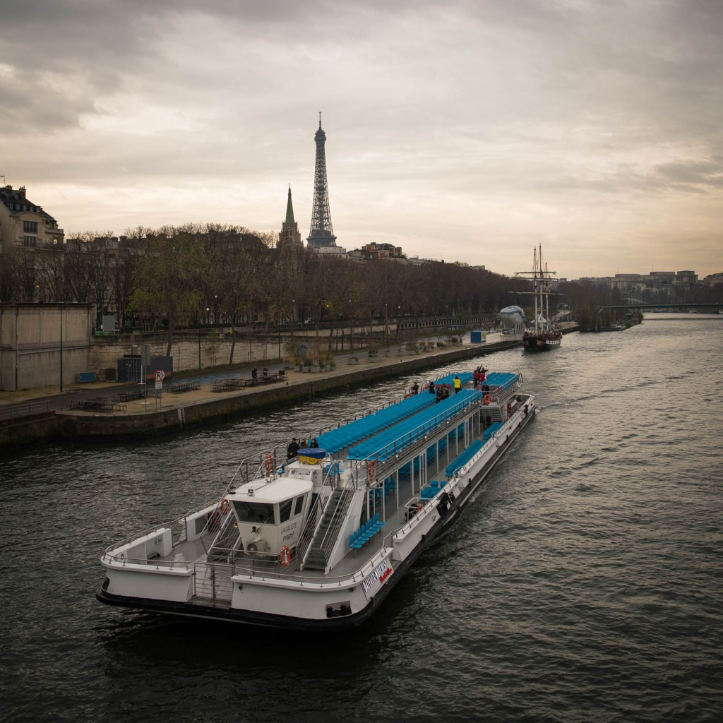 Eiffel Tower and Bateau Mouche on the Seine rive, DearSusan Paris in Spring photography workshop 2016
